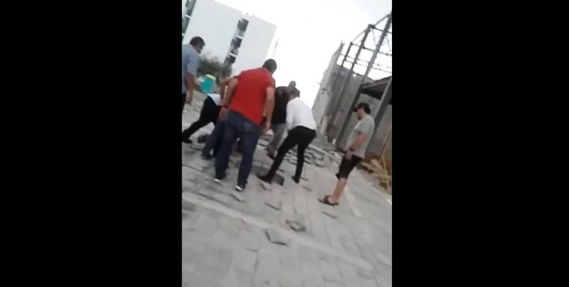 Se registra derrumbe de construcción en Culiacán