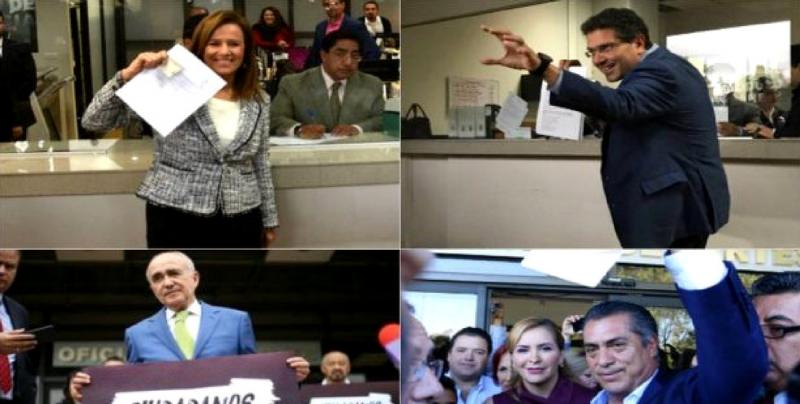 85 independientes buscarán la Presidencia en 2018: INE