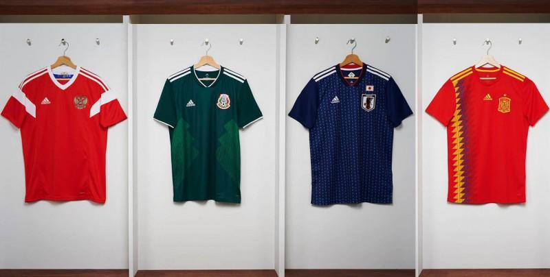 Las playeras  retro  que se lucirán en Rusia 2018. Las selecciones de  Argentina 23d64c7f4b75e