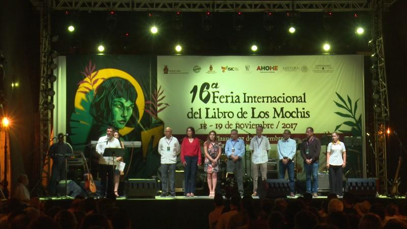 Inauguran la 16va Feria internacional del libro de Los Mochis