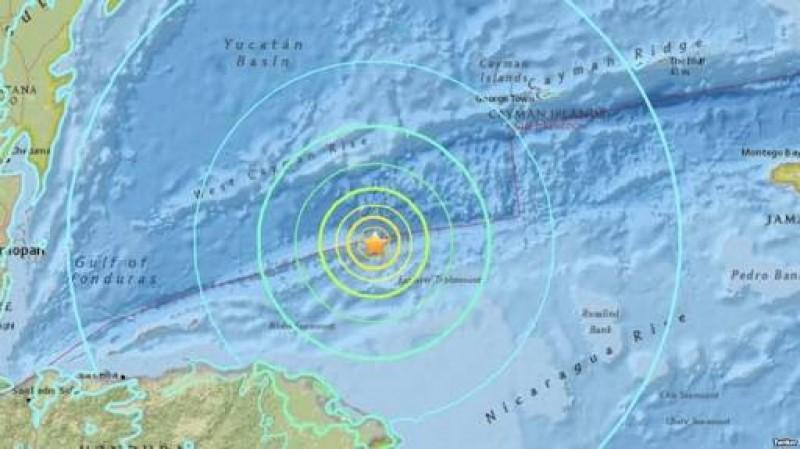 Alerta de tsunami en el mar Caribe tras un potente sismo de magnitud 7.6