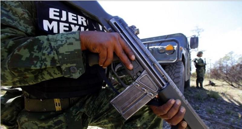 Grupo armado agrede a balazos a militares en Elota