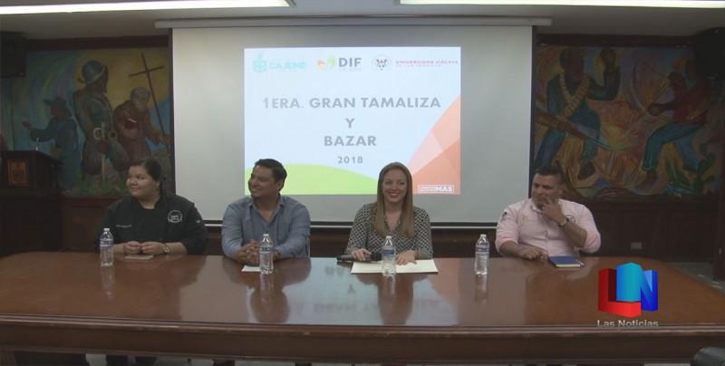 Organizan primera gran tamaliza y bazar