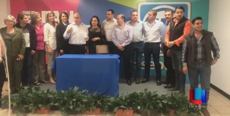 Se Registra Ruy Sánchez por el PAN