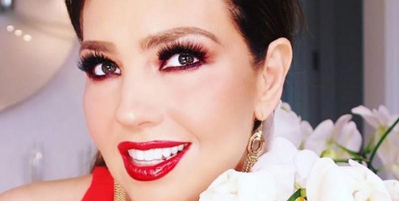 Thalía se muestra sin maquillaje en su Instagram