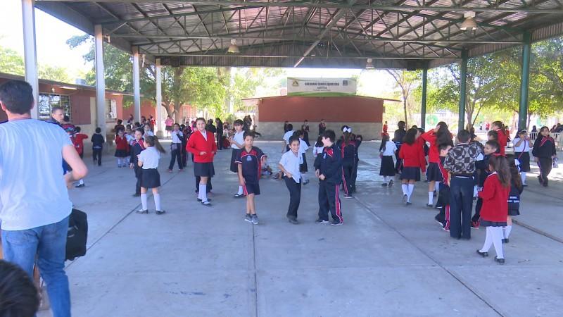 Se retoman clases en la escuela Gregorio Torres Quintero