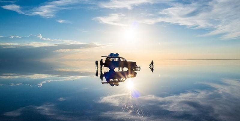 Salar de Uyuni: espejo del mundo y trampa mortal