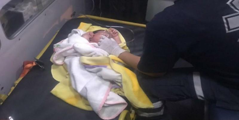Abandonan a bebé dentro de bolsa en la CDMX