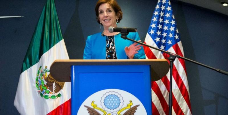 Renuncia Roberta Jacobson, embajadora de EE.UU. en México