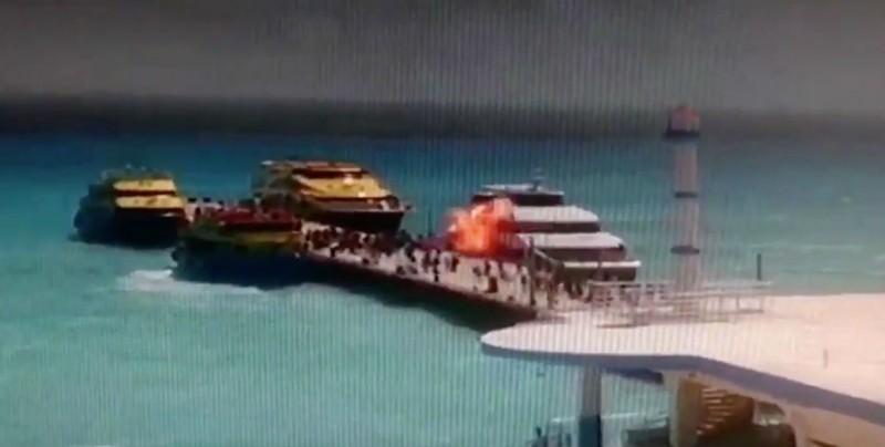 Explosión y bombas en Barcos Caribe ¿qué se sabe del caso?