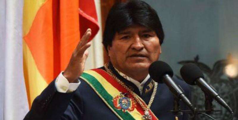Bolivia cose 150 kilómetros de bandera para llamar la atención del mundo