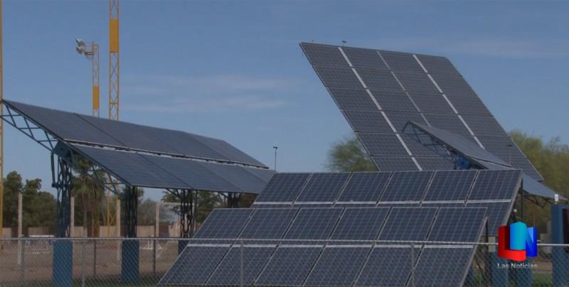 Instalan parque solar