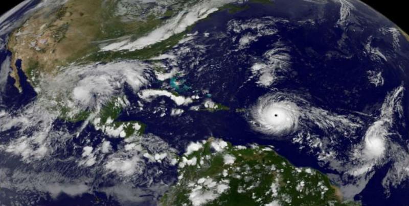 Pegarán 10 huracanes en el Atlántico