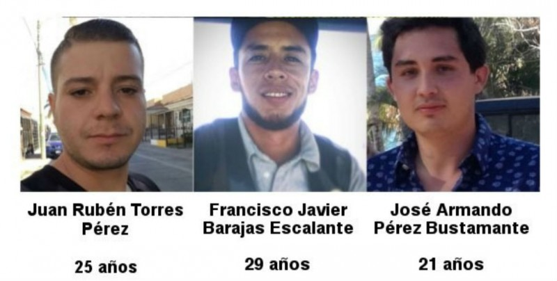 Hallan vivos a 3 jóvenes desaparecidos por dos días