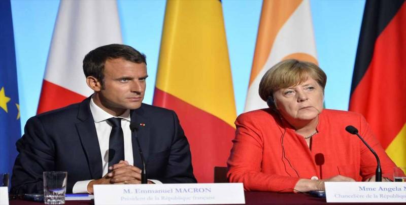 Macron y Merkel lamentan los vetos rusos en la ONU sobre Siria
