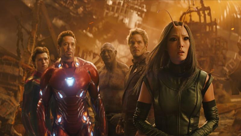 #Video Increíble detrás de cámaras de Avengers: Infinity War