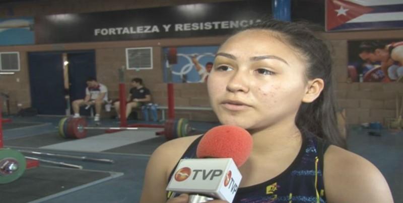 Amaya Rayotorres por medalla a la Olimpiada Nacional