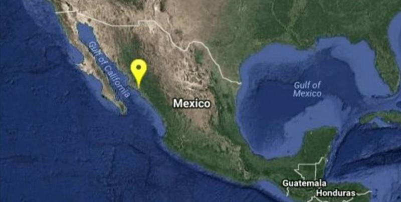 Se registra sismo de 4.0 en Guamúchil