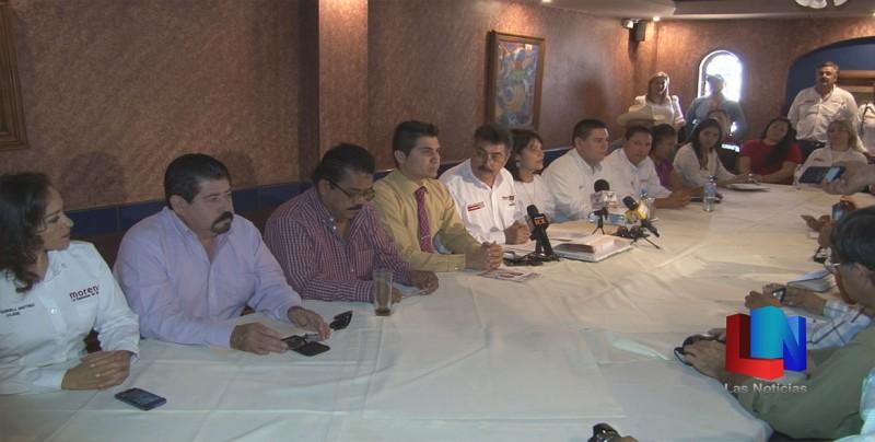 Presenta candidato integrantes