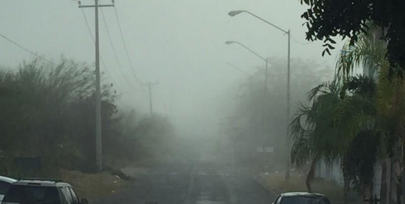 Neblina sorprende a culiancanses