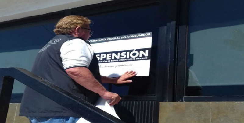Colocan sellos de suspensión a pensión y grúas Culiacán