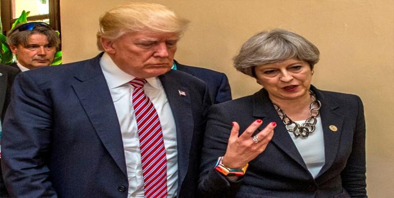 May y Trump dicen que uso de armas químicas no puede quedar sin respuesta
