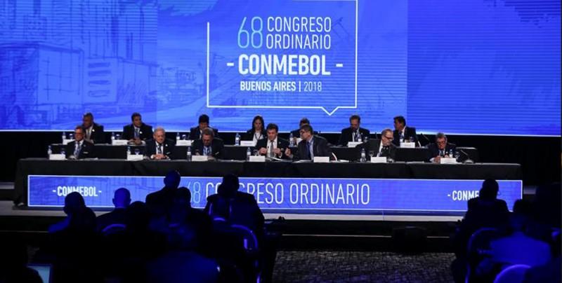 Conmebol apoya candidatura de EU, México y Canadá para Mundial de 2026