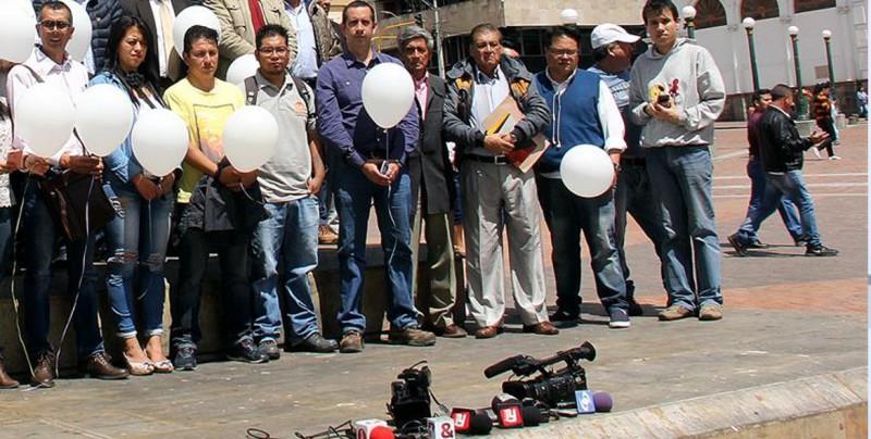 Anuncian muerte de los tres periodistas secuestrados