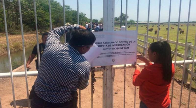Aseguran rancho de Roberto Sandoval, exgobernador de Nayarit