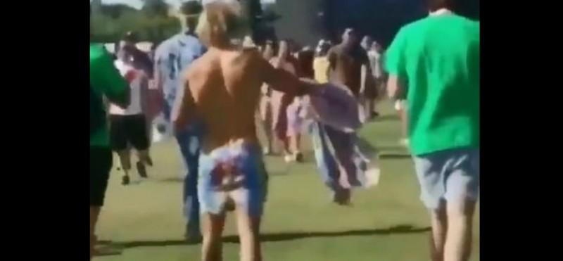 #Video Justin Bieber baila cumbia de Los Ángeles Azules