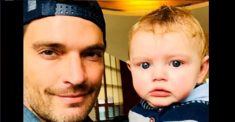 #Video Julian Gil quería tomarse foto con su hijo y esto pasó