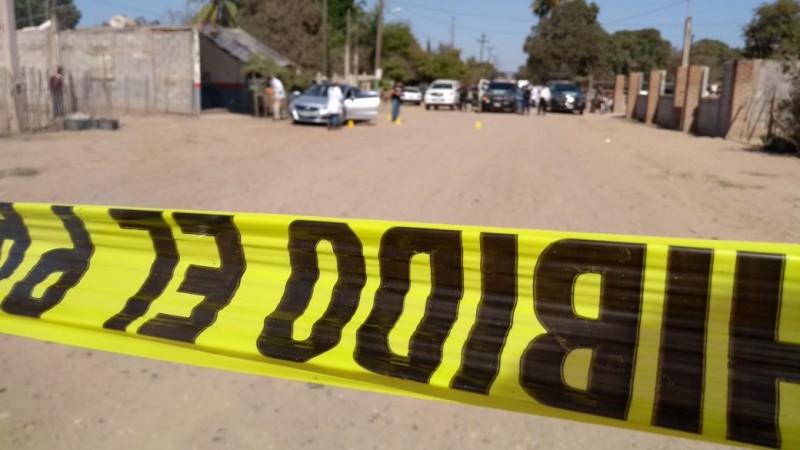 Asesinan a uno en la Sinaloa