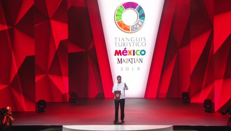 Inauguran el Tianguis Turístico México Mazatlán 2018