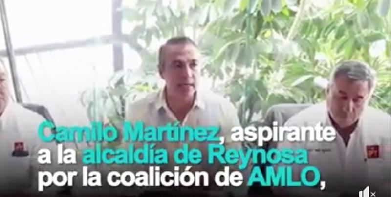 Sujeto detenido en Reynosa no es candidato de Morena
