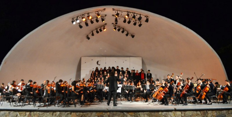 En Guamúchil, concierto de la Orquesta y Coro Infantil y Juvenil de Los Mochis