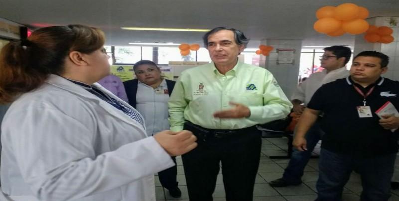 Supervisa Alfredo Román centro de salud, Hospital General y de Cancerología