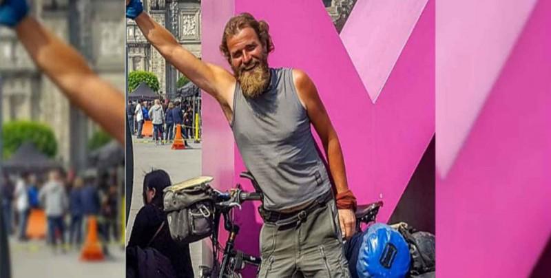 Ciclista alemán desaparece en México