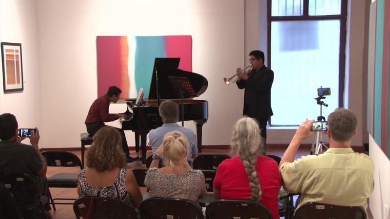 Deleitan con piano y trompeta