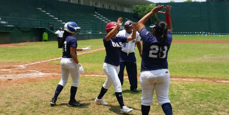 La UAS a Cuartos de Final en el Soft Femenil en la Universiada Nacional