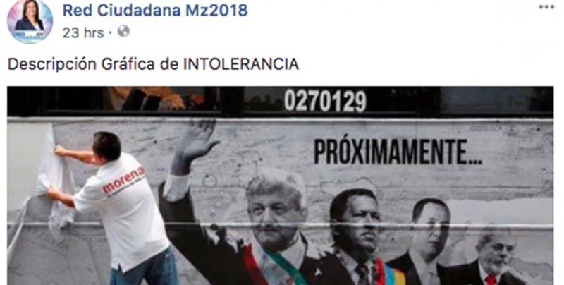 #ObvioPhotoshop: Simpatizante de Morena no retiró publicidad sobre la serie Populismo en América Latina