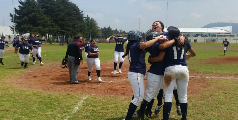 Las Águilas de la UAS a la Final del Softbol en la Universiada Nacional