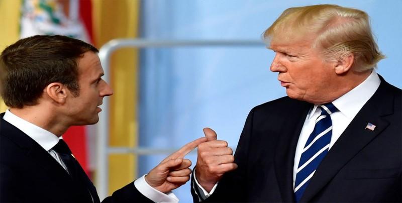 Trump llama a Macron antes de anunciar su decisión sobre el acuerdo con Irán