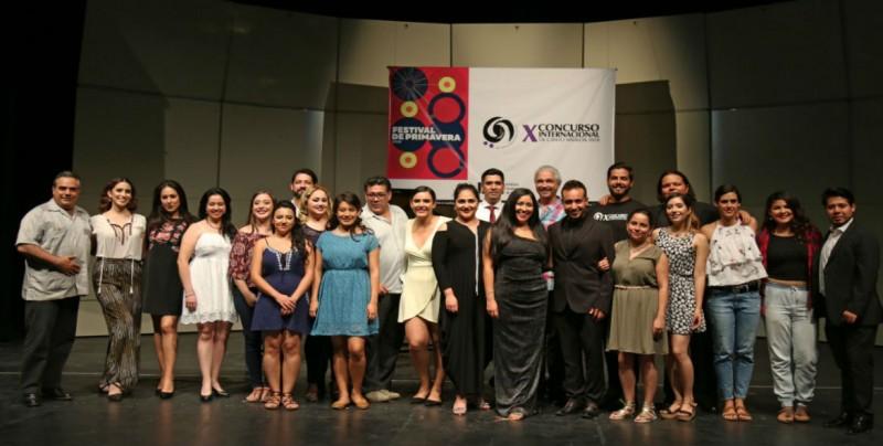 Final del  X Concurso Internacional de Canto Sinaloa 2018