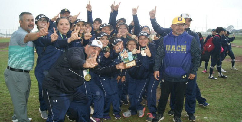 Águilas UAS logra primer oro en Softbol