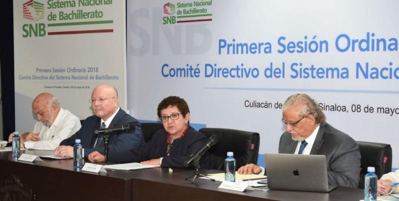 Sesión Ordinaria 2018 del Comité Directivo del Sistema Nacional de Bachillerato