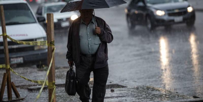 Prevén lluvias y altas temperaturas en gran parte del país