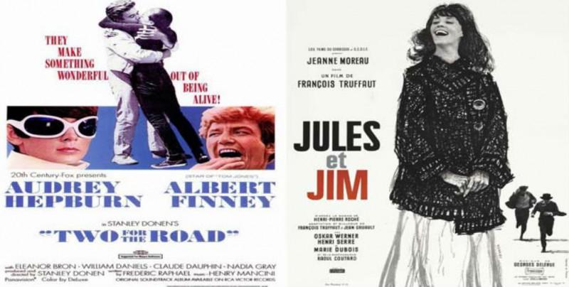Este viernes, un camino para dos y Jules y Jim