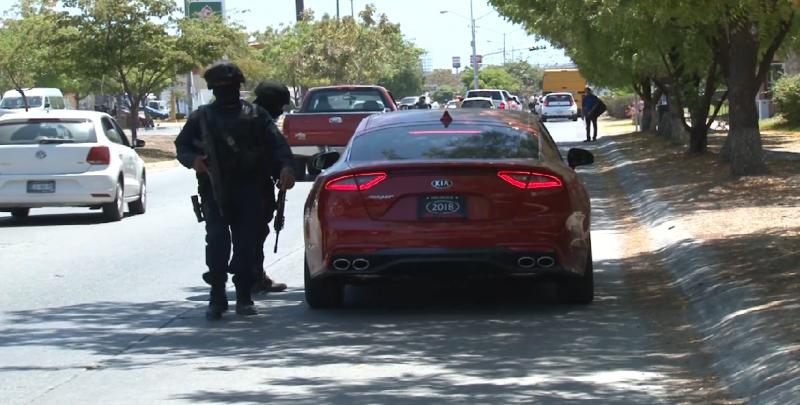 Realizan operativos de seguridad en la zona norte de Mazatlán