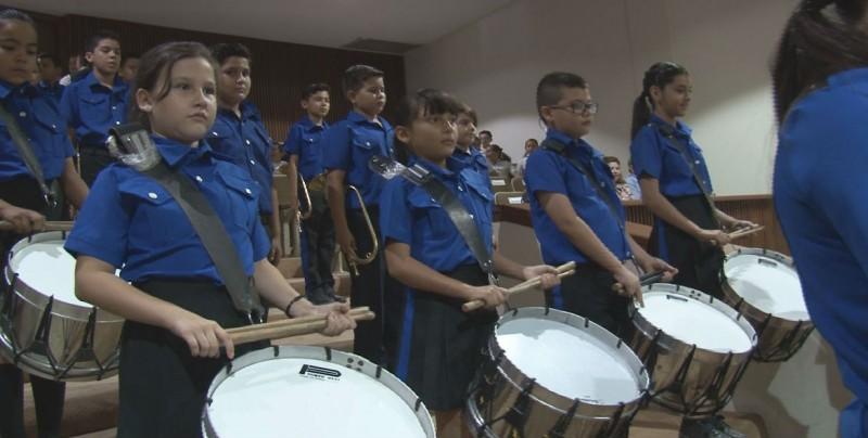 Pertenecer a la Banda de Guerra escolar, disciplina y valores