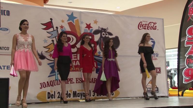 Presentan a las candidatas de la Feria Ganadera